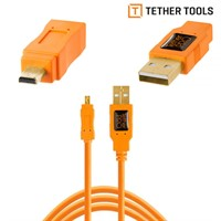 Tether Tools USB 2.0 A till Mini-B 4,6m