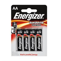 Energizer batteri AA Alkaline Power 4-pack
