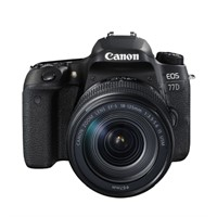 Canon EOS 77D + 18-135 IS USM inkl. 32GB minneskort