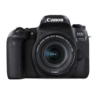 Canon EOS 77D + 18-55 IS STM inkl. 32GB minneskort