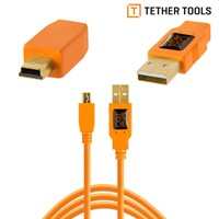 Tether Tools USB 2.0 till Mini-B 4,6m