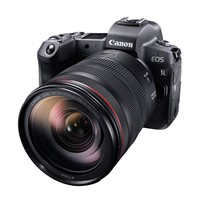 Canon EOS R + RF 24-105/4 L IS USM + adapter