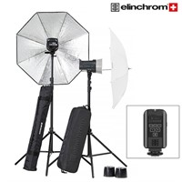 Elinchrom D-Lite RX 2/2 Paraply To Go Set