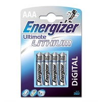 Energizer batteri AAA Lithium 4-pack