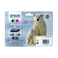 Epson 26 Multipack 4-pack (XP-520)