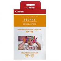 Canon RP-108 papper/färgband 3x36-pack för Selphy