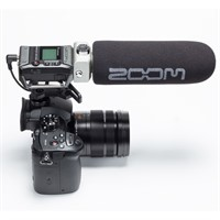 Zoom F1-SP Field Recorder Shotgun MicPack
