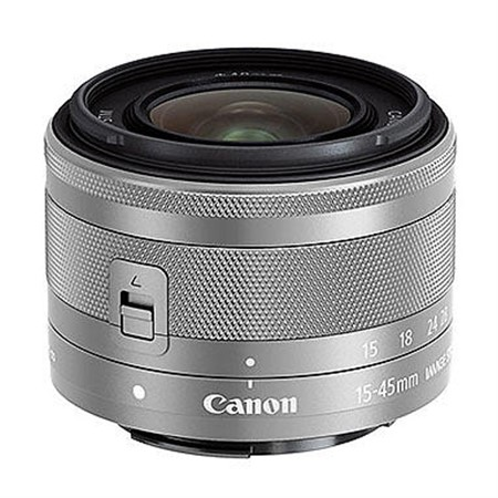 Canon EF-M 15-45/3,5-6,3 IS STM silver