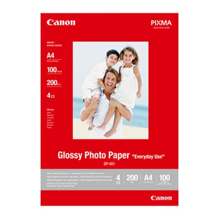 Canon 10x15 cm Everyday Use Glossy GP-501 100-pack