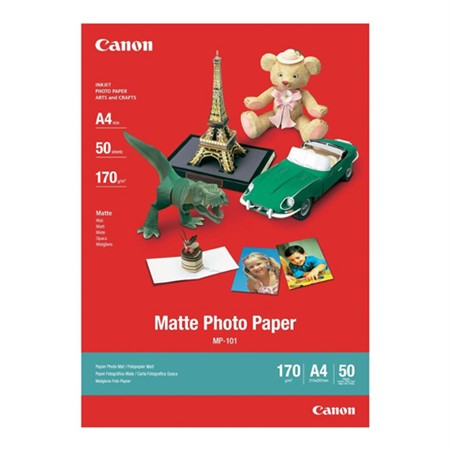 Canon A4 Matte MP-101 50-pack