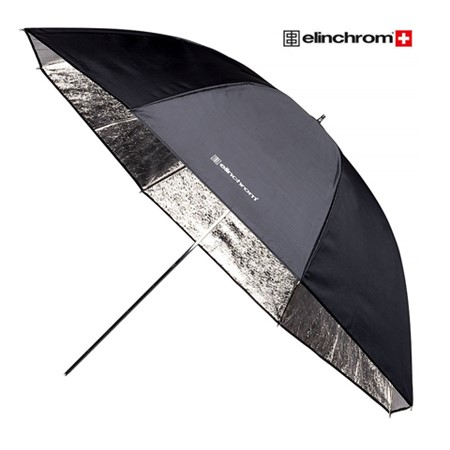 Elinchrom Paraply 105 cm Silver