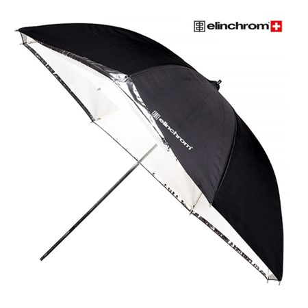 Elinchrom Paraply 85 cm Vit/Transparent