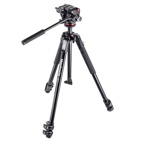 Manfrotto Stativkit video MK190X3-2W