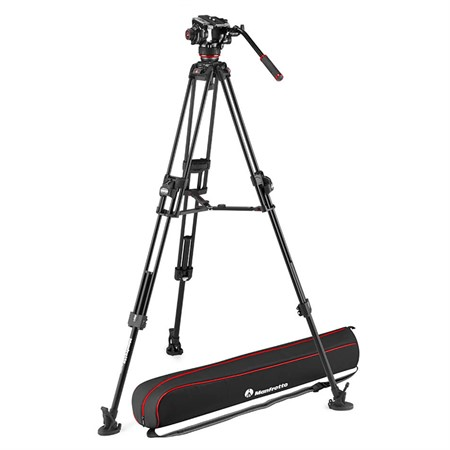 Manfrotto Stativkit video 504X + 645 Fast Twin