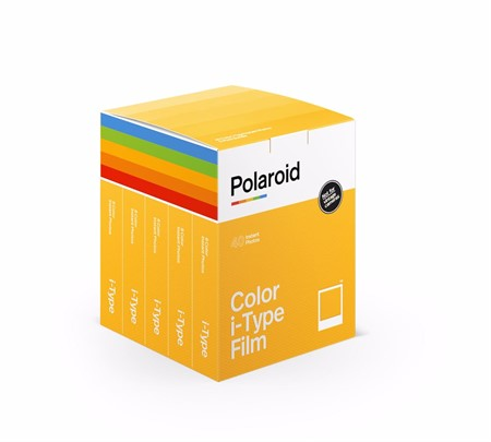 Polaroid Color film I-Type 5-pack
