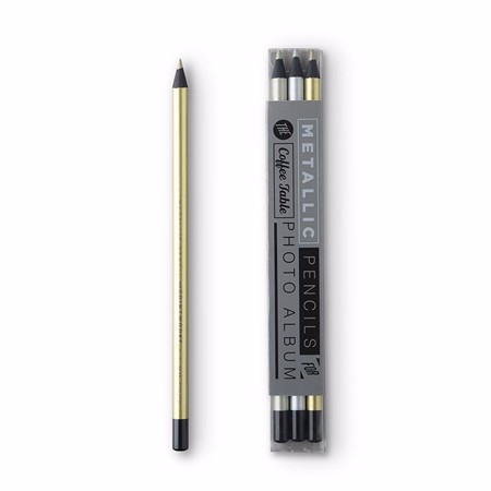 Printworks Color Pencils Metallic 3-pack