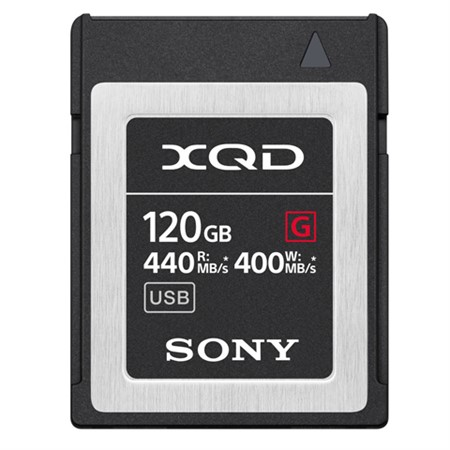 Sony XQD G Series 120GB 440Mb/s